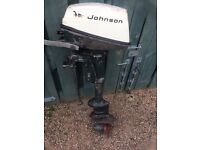 Johnston 4hp outboard engine