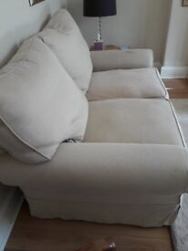 Sofa large 2 seater (Sofa Workshop) in good condition. Removable covers