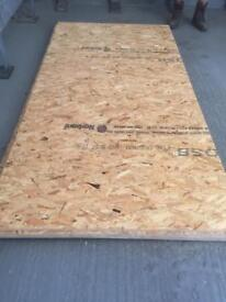 New 18mm OSB ply for sale. £12.50 each.
