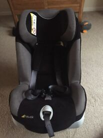 Hauck car seat with isofix base 0+ up to 18kg