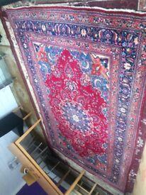 PERSIAN HAND MADE CARPET 3X2 METERS.