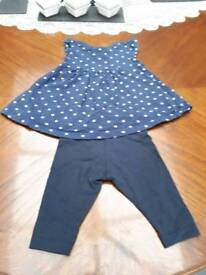 Baby girls outfit 3-6mths