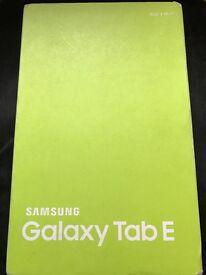BNIB Samsung Galaxy Tab E Wi-Fi 8gb