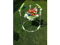 Fisher-Price Rainforest Jumperoo baby bouncer for babies
