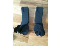 Mamas & Papas Car seat adaptors for luna/luna mix pushchair maxi cosi/cybex Aton