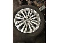 "Vauxhall Corsa Alloy wheels. Ltd edition. 16"". Multi spoke"