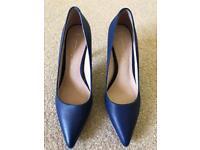 Next - Leather Heels (Size 6)