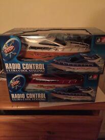 New Remote control speedboats