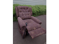 Electric rise and recline chair *can deliver