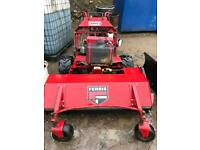Ferris commercial walk behind mower with 48 inch flail deck
