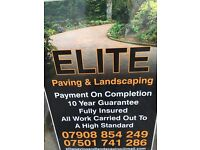 Block paving & landscaping