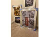 Discounted Liquid Art Mirror Framed Glass Pictures – Prices From £45