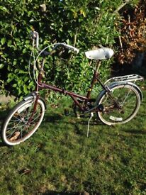 Retro Dawes folding bicycle