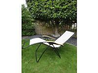 2x Garden Reclining Chairs