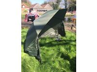 Fishing Bivvie brolly umbrella Nash Oval Plus