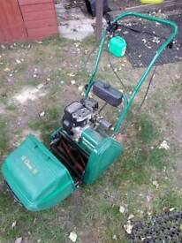 Qualcast self driven petrol lawnmower