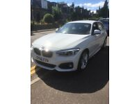 BMW 1 SERIES 118i, 'M' SPORT, 5 DOOR SPORTS HATCH, BASICALLY NEW - ONLY 220 miles