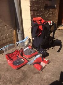 MacPac Vamoose Child Carrier. Brand New With Tags Attached And Extra Accessories