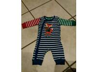 Joules sleepsuit 3-6 months