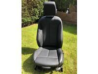 BMW F31 black leather passenger seat