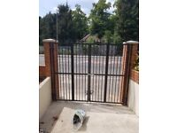 Security metal gates and grills
