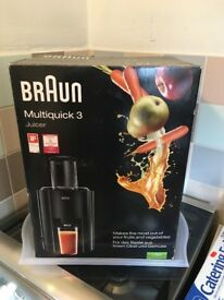 Braun Juicer...Multi Pack...Brand New....only used for 1-month