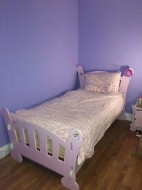 Girl's Princess Furniture (Bed, Wardrobe, Chest, Bedside Cabinet)