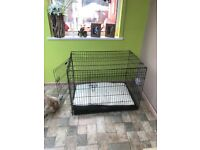 X/L Dog crate and bed (Brand new)