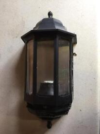 Black half lantern