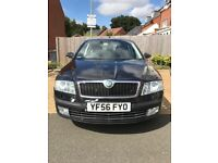 2006 Skoda Octavia FSI Laurin & Klement Edition Fully Loded (56 Plate) Black Leather Interior
