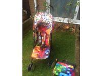 Cosatto pixelate stroller buggy pushchair
