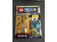Lego magazine new with toy