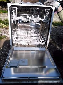 Zanussi ZDI 6041 Stainless Steel Dishwasher Integrated