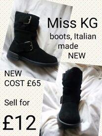 Brand new Miss KG Boots Italian cist £65
