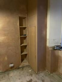 Plasterer (20% off until end of February, painting on customer's request)