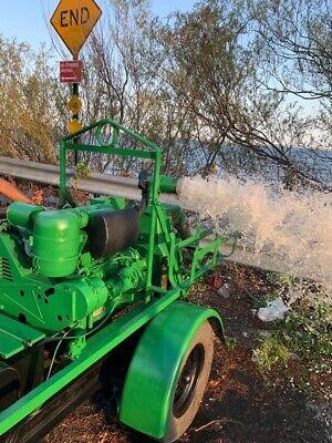 Che Trash Water Pump With Deutz 3 Cylinder Diesel Engine