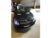 Mercedes Benz baby car