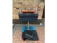 Everdure by Heston Blumenthal Fusion Electric Ignition Charcoal BBQ ,Pedestal Rotisserie ,Long Cover