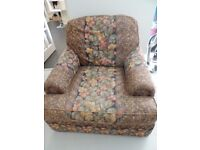 Large Comfortable Armchair in Good Condition.