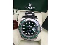 Rolex SUBMARINER 116610 LV HULK recently serviced by rolex factory stickers intact 2010