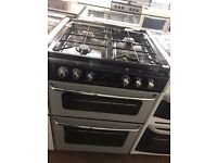 60CM SILVER/BLACK STOVES GAS COOKER