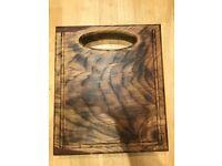 Solid Oak Wooden Chopping Board,Cutting Board, Hand Made Cutting Board, Brown