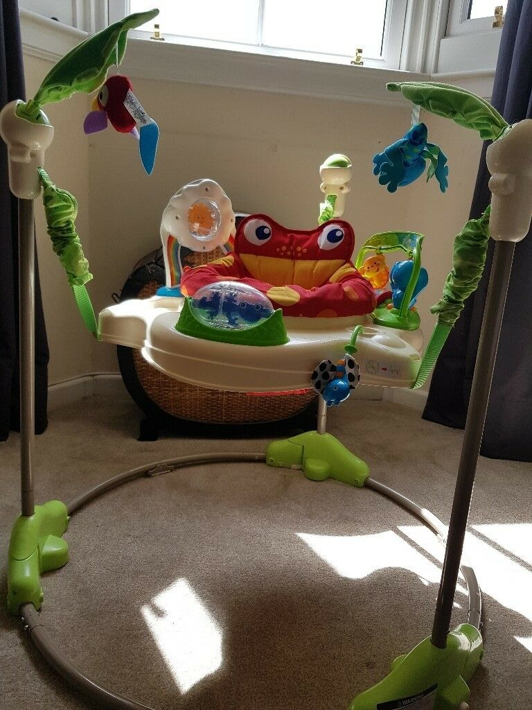 27711e9f335d Fisher price jungle baby bouncer jumperoo