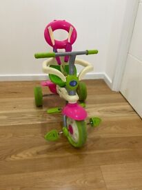 Details about SmartTrike 4 in 1 Tricycle - Pink/Green