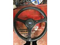 ford RS 3 spoke steering wheel