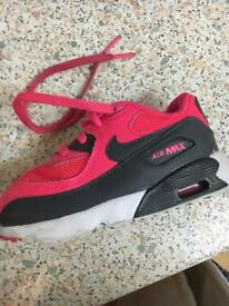Infant Nike air max size 7.5