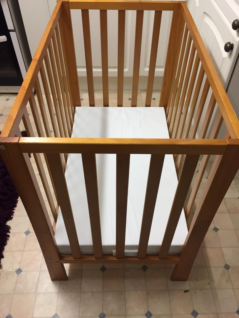 Cot with New Mattress - Free Delivery available