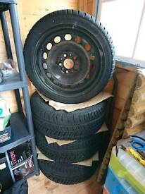 """Bmw 3 series steel plus tyres 17"""""""