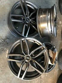 18 Audi rs4 alloys