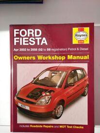 Ford Fiesta haynes manual